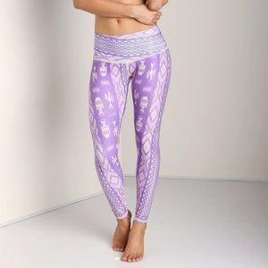 TEEKI Diamond Tribe Purple Hot Pant Medium G26